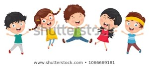 vector-illustration-funny-kids-playing-450w-1066669181